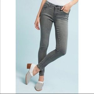 Pilcro and the Letterpress Mid-Rise Skinny Jean